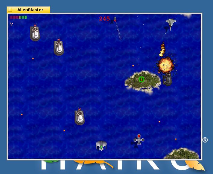 Alien Blaster In Game