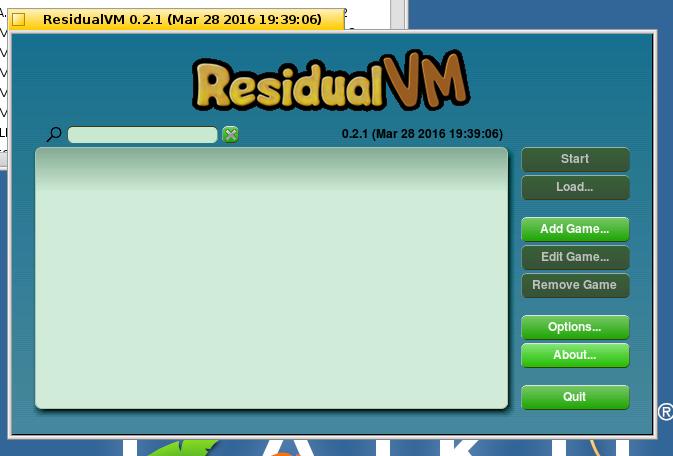 ResidualVM